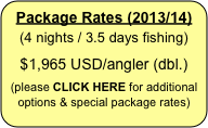 Package Rates (2011/12)