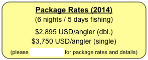 Package Rates (2012)