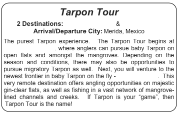 Tarpon Tour